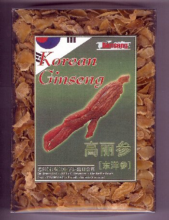 benseng red korean ginseng slices